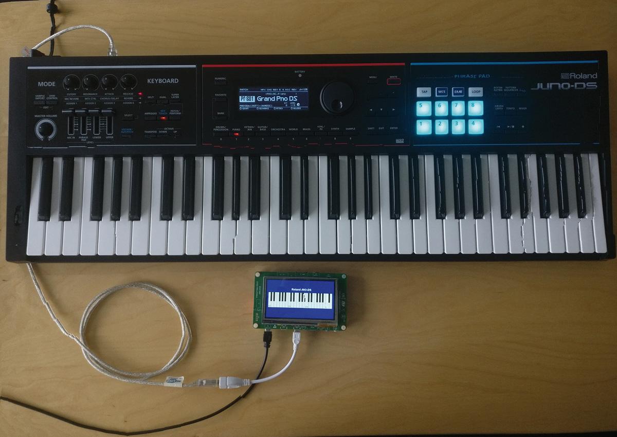 Display Keyboard in use 01